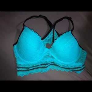 VS PINK blue bralette!